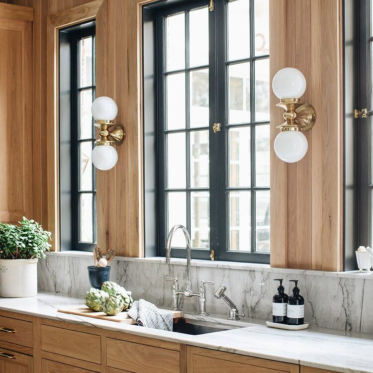 Kenowa Builders The Madison Renovation Project, Design: Jean Stoffer Design, historic remodel, kitchen design with island, kitchen remodel, kitchen decor paneling